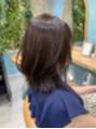 ロンドフルール 大宮東口(Lond fleur)ミディアムはレイヤーでひし形シルエットに!by石畑