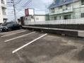 裏の駐車場が変わりました!