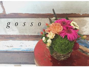 gossoに可愛いお花が(*^_^*)_20160929_1