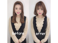◆前髪作って新しい私に大変身☆ふんわりボブ◆