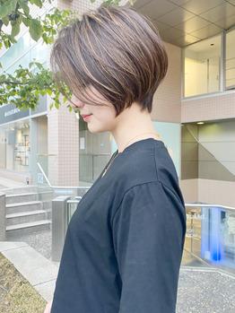 ハイライト×ショートヘア。これががまた可愛いんです_20200819_1