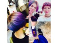 髪の毛!いろんな色に!!(^^)