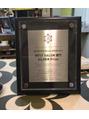 ホットペッパービューティーから表彰されました!