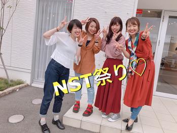 NST祭りのヘアメイク風景~(*^^*)_20180930_1