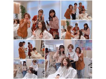 NST祭りのヘアメイク風景~(*^^*)_20180930_2