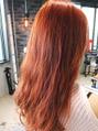 外国人風赤毛スタイル