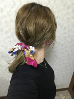 スカーフアレンジ☆_20190517_1