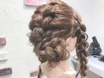 編み込みヘアセット_20181205_3