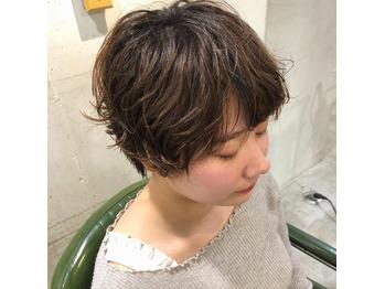 素髪パーマ/ショートスタイル/クセ風パーマ_20200304_1
