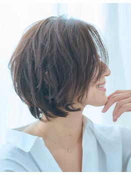 40代50代◎人気オーダー髪型の大人レイヤーショート