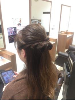 あのヘアスタイルを真似て作ってみたw_20170504_2