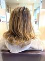 髪質改善トリートメント×グレイイルミナカラー