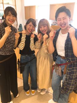 NST祭りのヘアメイク風景~(*^^*)_20180930_4