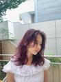 oguma hair /艶色ディープバイオレット