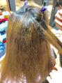 縮毛矯正とカラー…