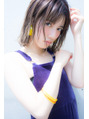 『MINX 谷口敦子』シースルーバングで夏もお洒落に…