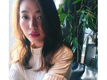 アンニュイ前髪と小顔ロング★★top stylist田中_20181207_1