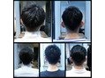 scora salon style men