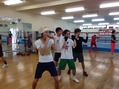 ボクシング体験^_^