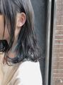 アデルブルーのインナーカラー♪
