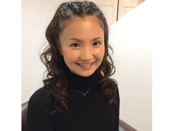 安室ちゃんヘアセット☆編み込みヘア_20180228_3