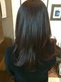 くせ毛の髪質改善について