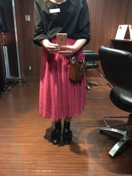 ピンクのスカートに挑戦!_20170509_1
