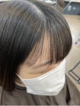 ◎前髪縮毛矯正◎_20210921_1