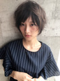 【春木 政徳】小顔に導く無造作ショートヘア