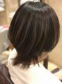縮毛矯正×ハイライト×N.カラー