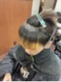 前髪の内側にエナジーを…!