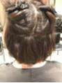 縮毛矯正の薬剤はひとりひとり髪質に合わせます