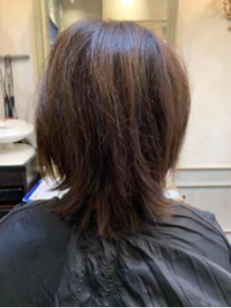 自分の髪じゃないみたーい(^^)_20200928_2