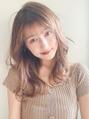 赤みを消して艶髪透明感ベージュ☆!