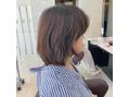 髪が固い広がりやすい方へのショート!