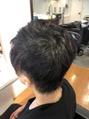 ヘアー ロゼッタ ギンザ(Hair rosetta GINZA)パーマを残してスッキリしたスタイルに!