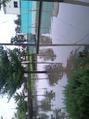 台風当日!