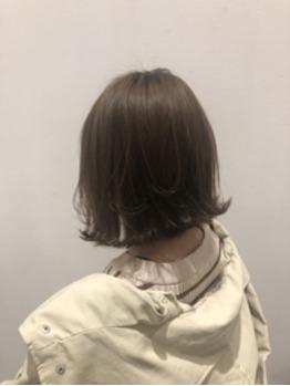 外はねボブ×フォギーベージュ☆_20190311_1