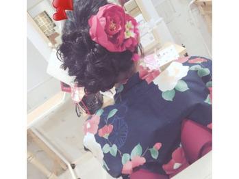 浴衣ヘア☆_20180731_1