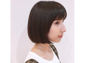 ミニボブにカット【髪質改善】_20180809_1
