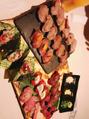 肉寿司!!!