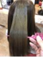 髪質改善お試しいただきました!