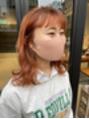 ヘアー アイス ルーチェ(HAIR ICI LUCE)夏にむけてオレンジカラー