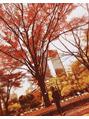 秋を感じた 【立川南口】
