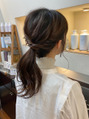 MY GUEST hair《カラー+COTAトリートメント¥8000》