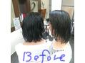 人気のシルキーエステ♪ before after