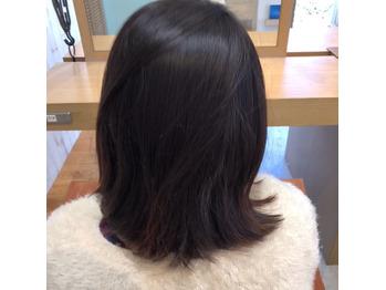 本日のカルテ【41】黒髪からハイライト_20180324_2