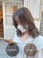【十亀翔】ハイライト/フェイスレイヤーミディアム♪