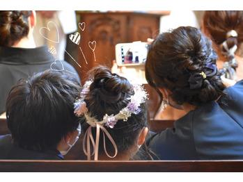 妹の結婚式。Part.1川村Asami_20210524_1