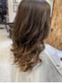 巻き髪ヘアスタイル